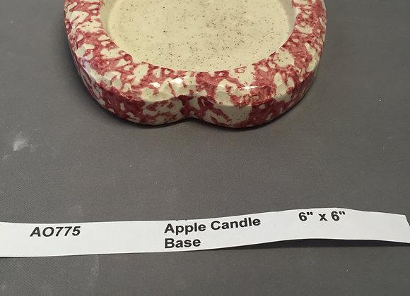 Apple Candle Base