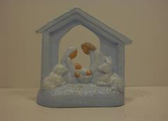Nativity Candle House