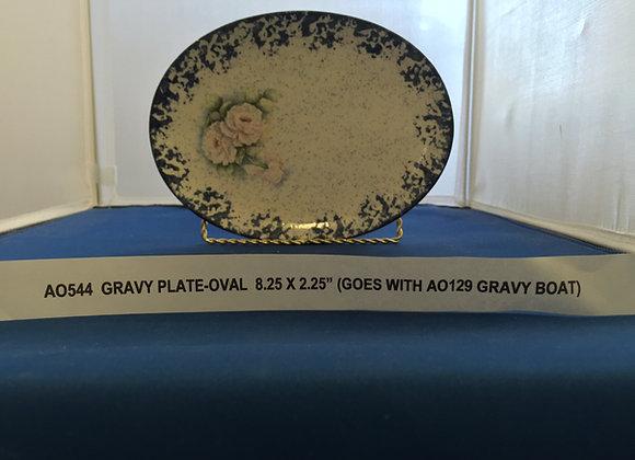 Oval Gravy Plate