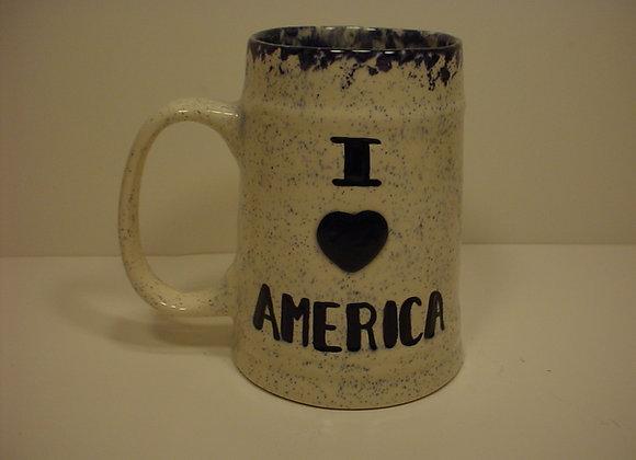 I Love America Tankard