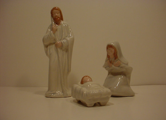 Nativity Mary, Joseph and Baby