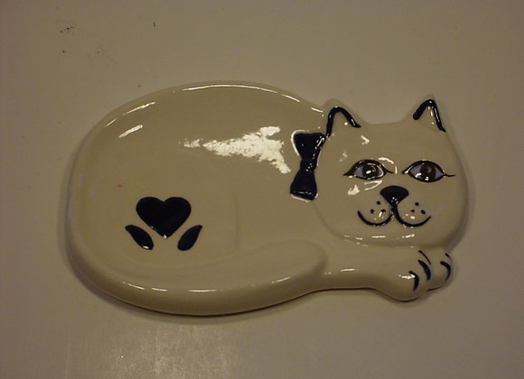 Cat Soap Dish/Spoon Rest