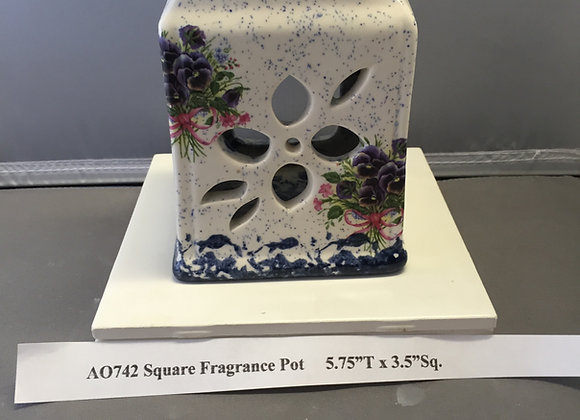 Square Fragrance Pot