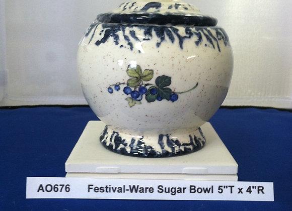 Festival-Ware Sugar Bowl