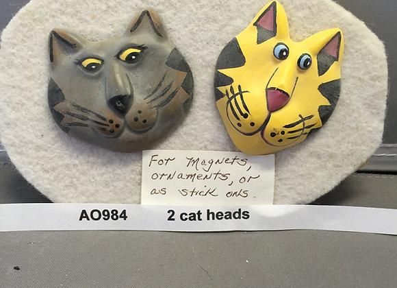 Two Cat Heads Flat