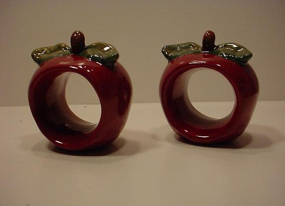 Apple Napkin Rings