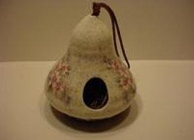Pottery Bird House