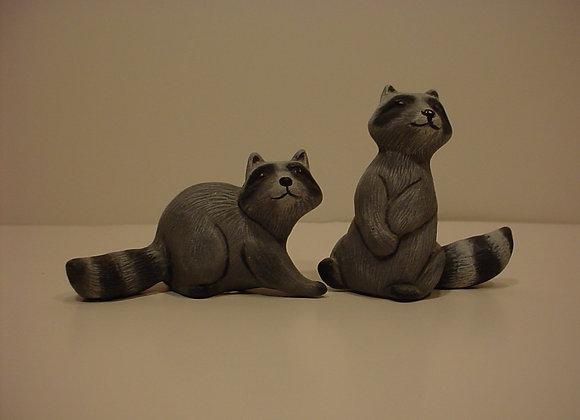 Raccoons (2) Set