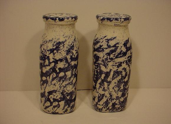 Milk Bottle Salt and Pepper Shakers