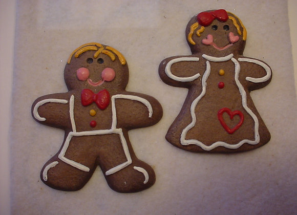 Two Gingerbread Flats