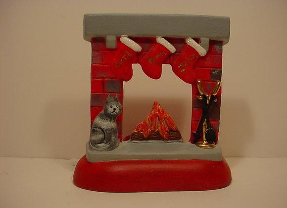 Tea-light- Fireplace