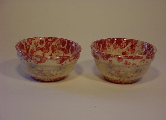 Two Mini Pottery Bowls