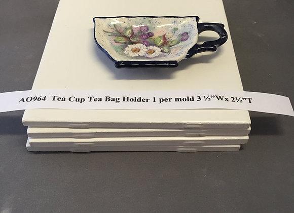 Tea Cup Tea Bag Holder