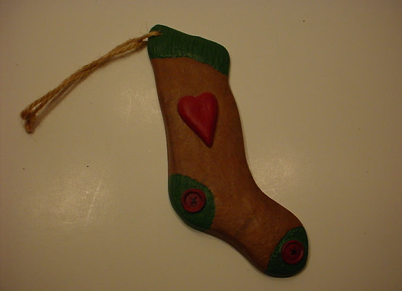 Stocking with Heart