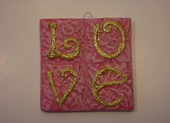 """LOVE"" Tile"
