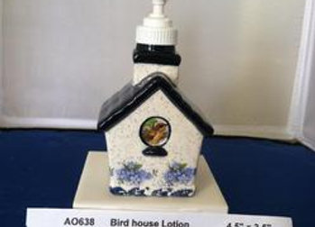 Bird House Soap Dispenser
