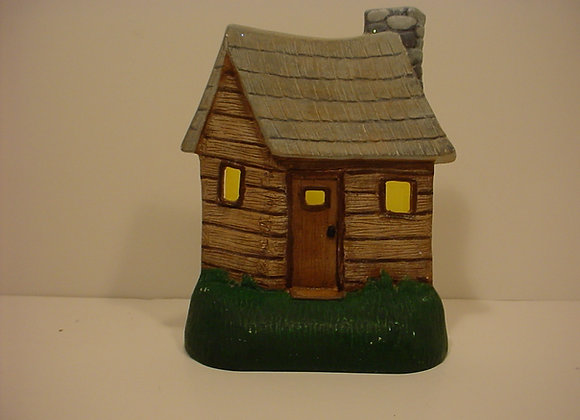Tea-light: Log Cabin
