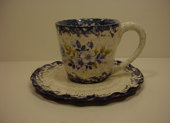 Ruffleware™  Cup and Saucer