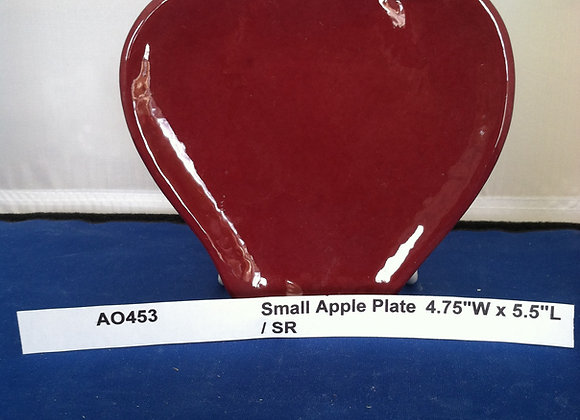 Small Apple Plate