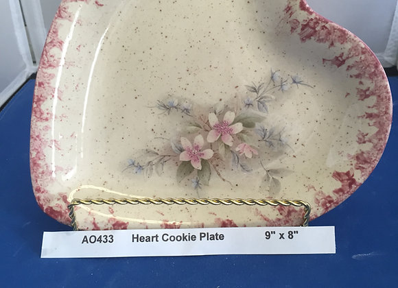 Heart Cookie Plate