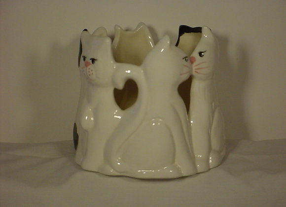 Cats Candle Pot
