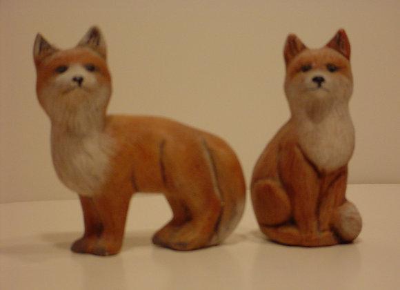 Foxes (2) Set