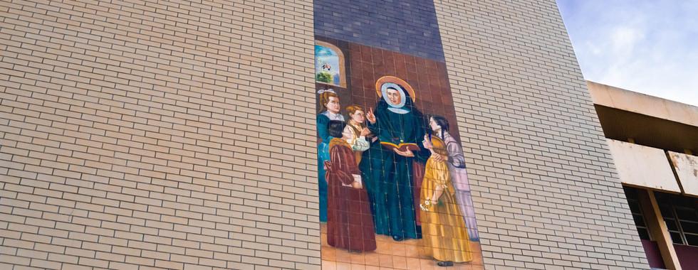Mosaico da Escola Maria de Mattias