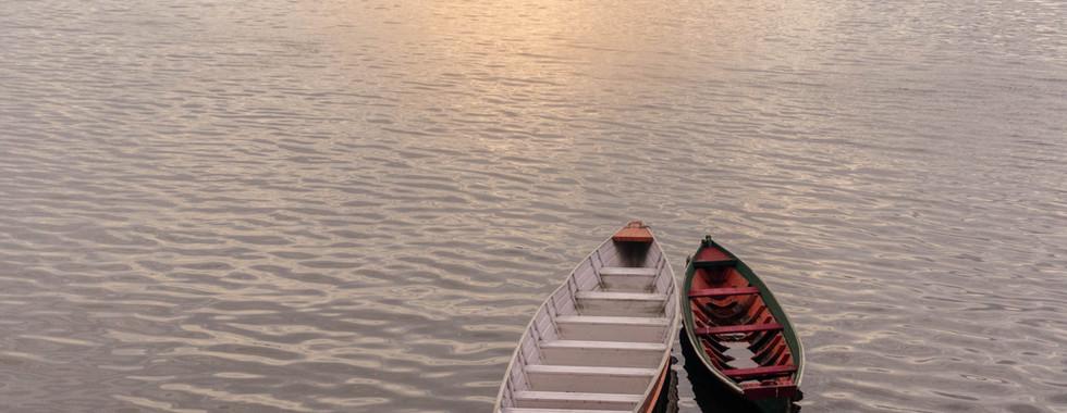 Canoas no Rio Xingu