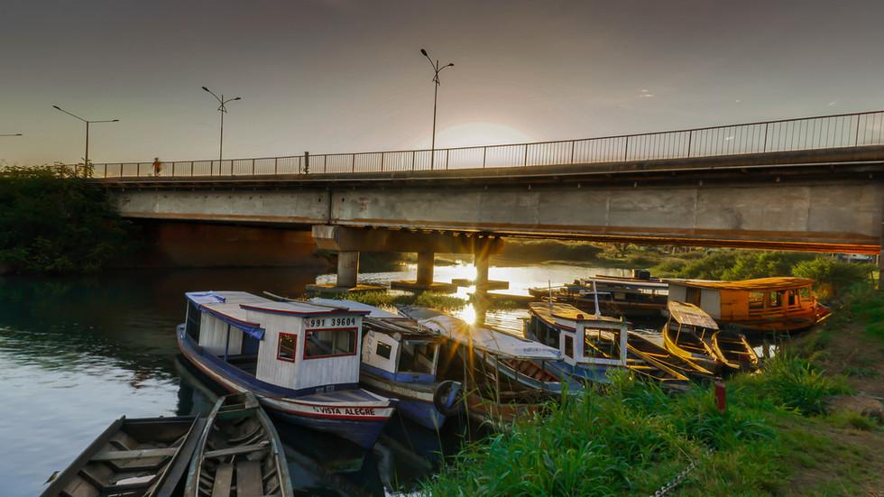 Ponte sobre o Ig. Altamira