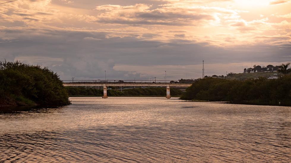 Ponte sobre o Igarapé Altamira