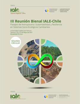 Segunda Circular y ampliación de plazo resúmenes III Reunión Bienal IALE-Chile