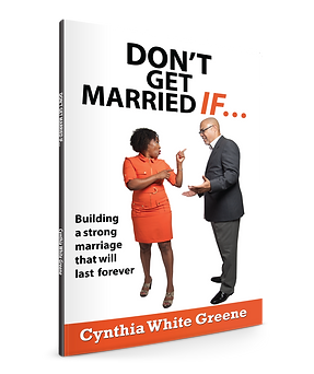 Don't Get Married If.. book