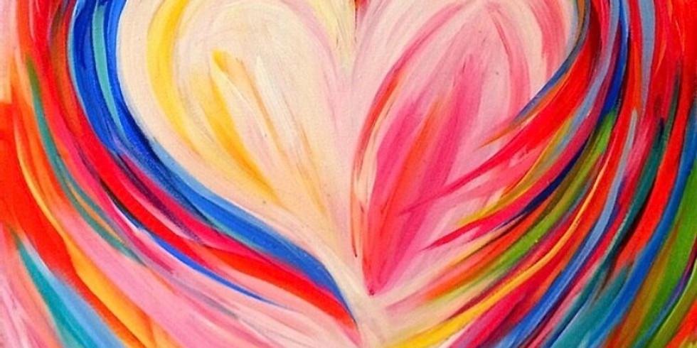 Valentine Wine & Paint Night