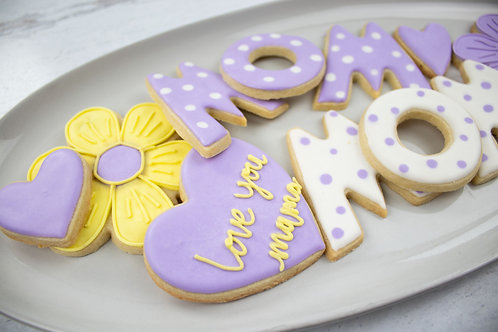 Mother's Day Cookie Gift Set