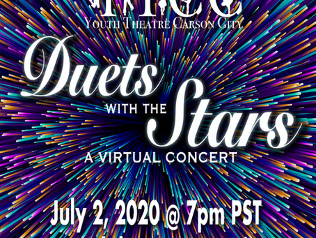 Duets with the Stars Virtual Concert July 2, 2020