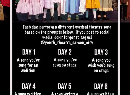 @Home Activity: Musical Theatre Challenge