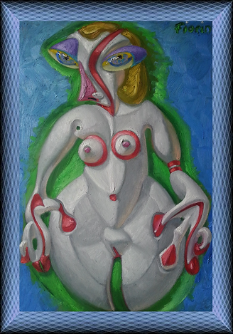 nude girl at mid-thighs