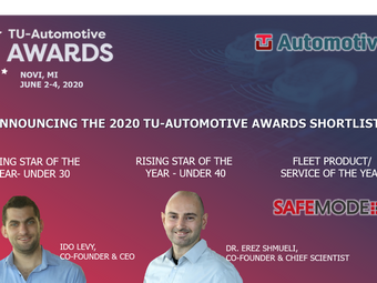 SafeMode's co-founders and product shortlisted at TU Automotive Awards!