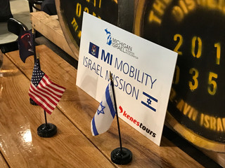 Michigan delegation for Israeli Mobility
