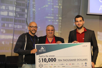 SafeMode wins 1st place in Arise's start-up competition