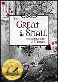 The Great & the Small cover with Eloquent Quill Award gold seal