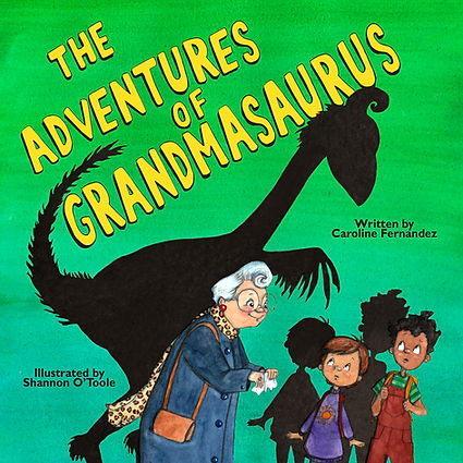 Grandmasaurus Cover Yellow Title July 15