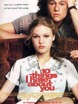 10 Thing I Hate about You movie poster