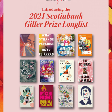 Around the Web: The Giller Longlist, Angélique Lalonde's Desk, and TikTok Book Sales