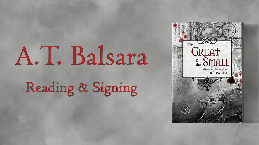 A.T. Balsara Reading and Signing at Indigo Oshawa