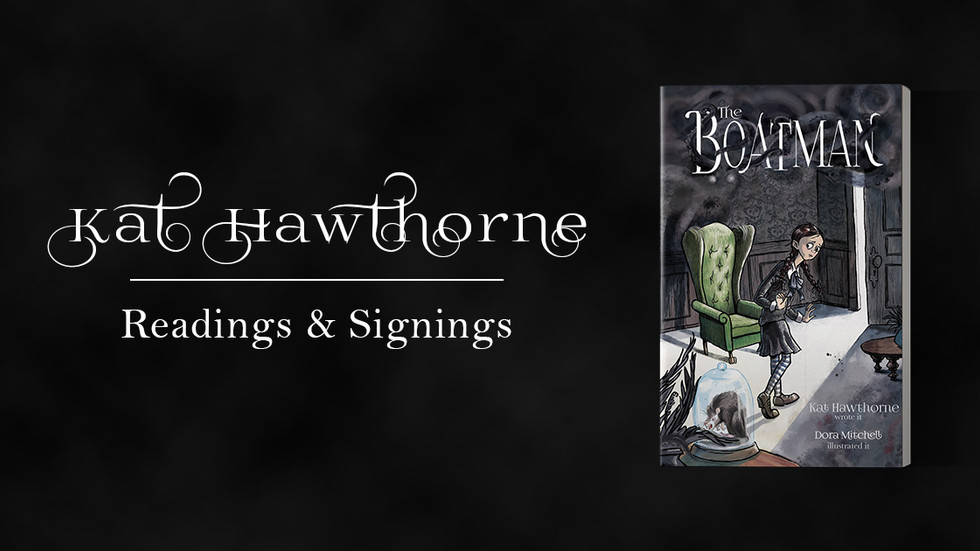 Kat Hawthorne at Moonbeam Books & Fincher's