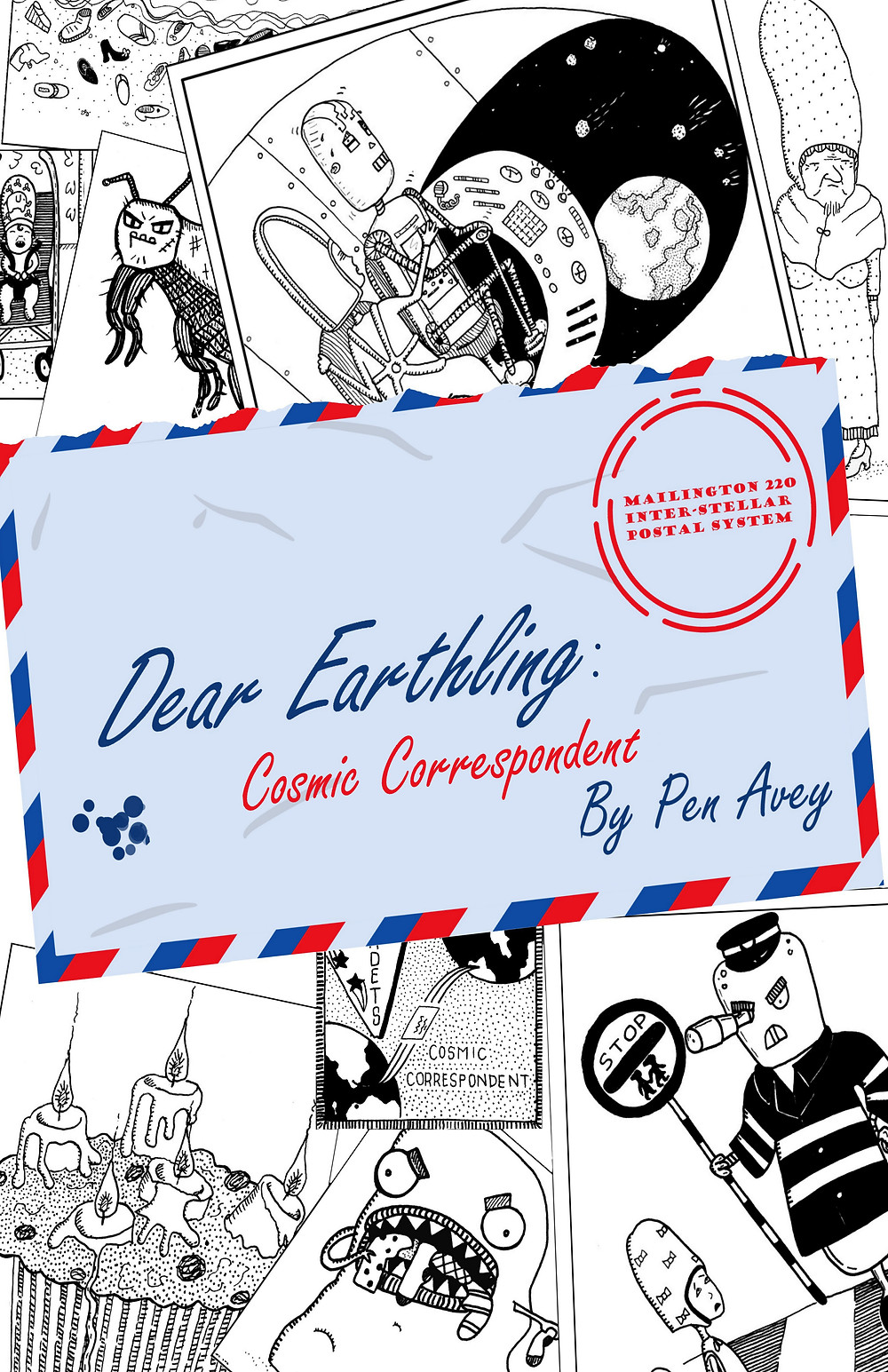 Dear Earthling: Cosmic Correspondent cover