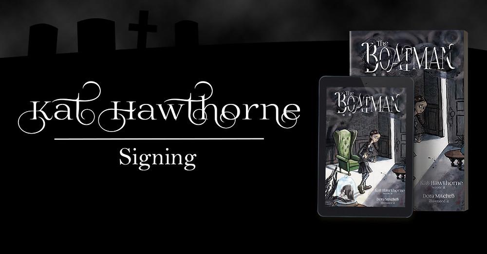 Kat Hawthorne Signing