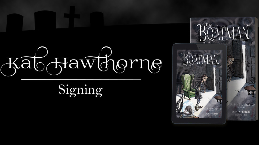 Kat Hawthorne Signing in London