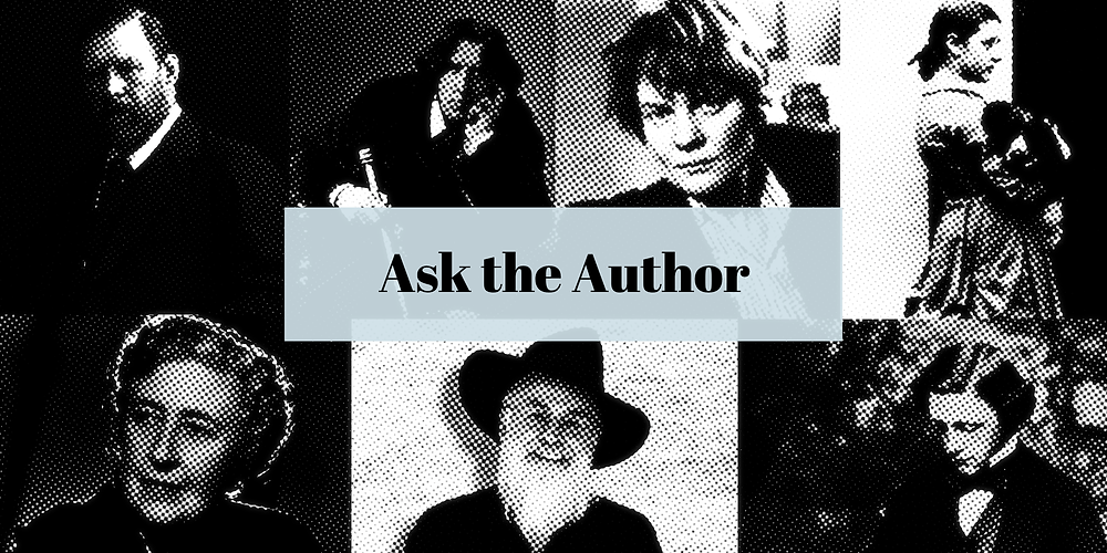 Ask the Author banner